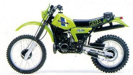 Kawasaki Kdx Plastics