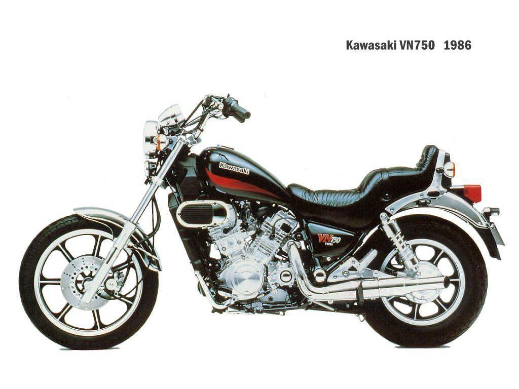 1986 Kawasaki Vn 750